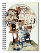 Raised On The Radio 3 Spiral Notebook