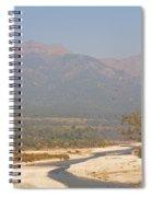 Ramganga River Flowing Through Corbett National Park Spiral Notebook