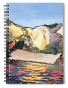 Ramsey Island - Land And Sea No 2 Spiral Notebook
