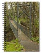 Ramsey Swing Bridge 2 Spiral Notebook