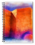 Ranchos Nave - Watercolor Spiral Notebook