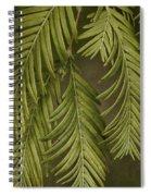Random Nature Spiral Notebook