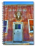 Randsburg Post Office Spiral Notebook