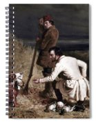 Ranney: Duck Shooting Spiral Notebook