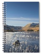 Rannoch Moor - Winter Spiral Notebook