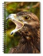 Raptor Rage Spiral Notebook