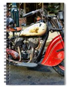 Rare Indian Motorcycle Spiral Notebook