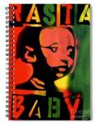 Rasta Baby Spiral Notebook