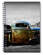 Rat Rod Profile Spiral Notebook
