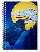 Raven Spirit Spiral Notebook