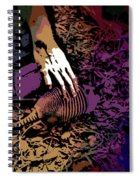 Reaching For A Friend Spiral Notebook