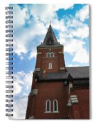 Reaching For Glory Spiral Notebook