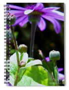 Reaching For The Future Spiral Notebook