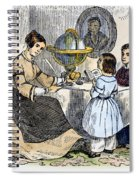 Reading, 1866 Spiral Notebook