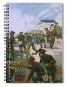 Rebellion In Venice Spiral Notebook