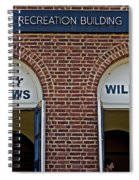 Rec Hall Spiral Notebook
