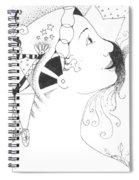 Recalling Dreams Spiral Notebook