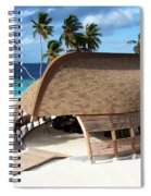 Reception Dhoni. Maldives Spiral Notebook