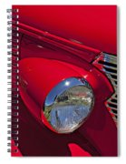 Red 1938 Chevy Coupe Spiral Notebook