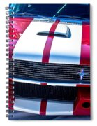 Red 1966 Mustang Shelby Spiral Notebook
