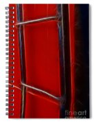 Red And Black Train Ladder Spiral Notebook