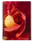Red And Orange Spiral Notebook