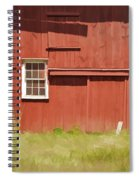 Red Barn Of New Jersey Spiral Notebook