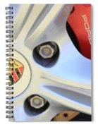 Red Boxter S Caliper Spiral Notebook