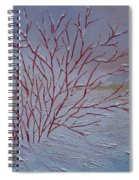 Red Branches Spiral Notebook