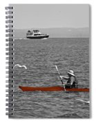 Red Canoe Spiral Notebook