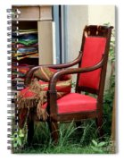 Red Chair Spiral Notebook