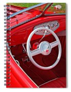Red Classic Car Spiral Notebook