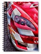 Red Corvette Spiral Notebook