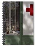 Red Cross. Belgrade. Serbia Spiral Notebook