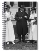 Red Cross Luncheon, 1917 Spiral Notebook