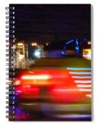 Red Dodgem Spiral Notebook
