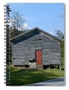 Red Door Of The One Room School House Spiral Notebook