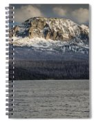 Red Eagle Mountain Evening Spiral Notebook