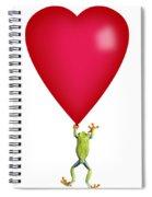Red-eyed Tree Frog Agalychnis Spiral Notebook