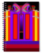 Red Fed Spiral Notebook