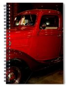 Red Ford Truck Spiral Notebook