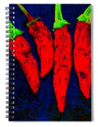 Red Hot Chili Spiral Notebook