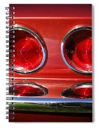 Red Hot Vette Spiral Notebook