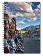 Red  Lodge Motorcycle Rally Spiral Notebook