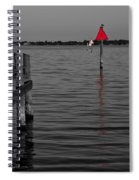Red Marker 6 Spiral Notebook