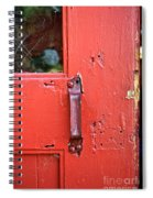 Red Of Course Spiral Notebook