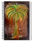 Red Palm Spiral Notebook