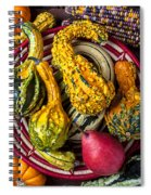 Red Pear And Gourds Spiral Notebook