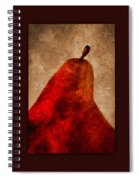 Red Pear Triptych Spiral Notebook