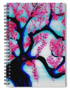 Red Plum Chinese Style Spiral Notebook